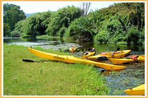 sardegna canoa