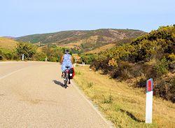 cicloturista valledoria