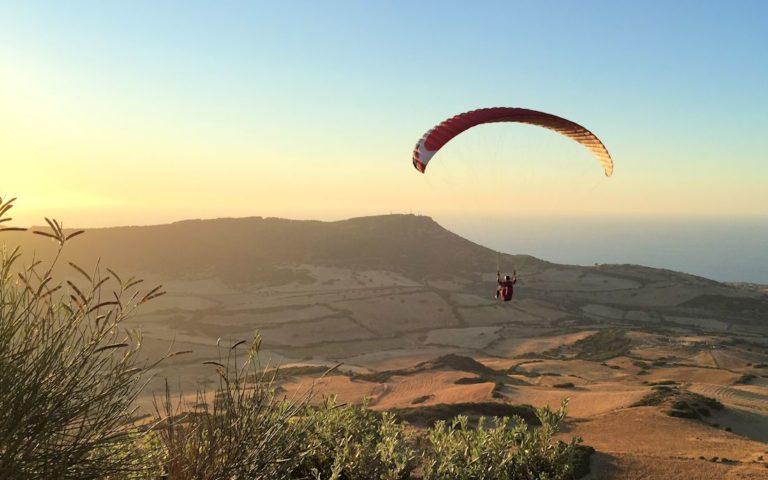 paragliding valledoria
