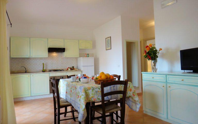 Junior suite soggiorno con angolo cottura